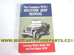 KNIHA MANUÁL JEEP WILLYS MB FORD GPW